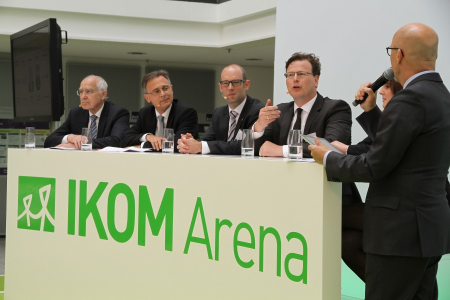 Moderation einer Podiumsdiskussion<br>Ein innovatives Format